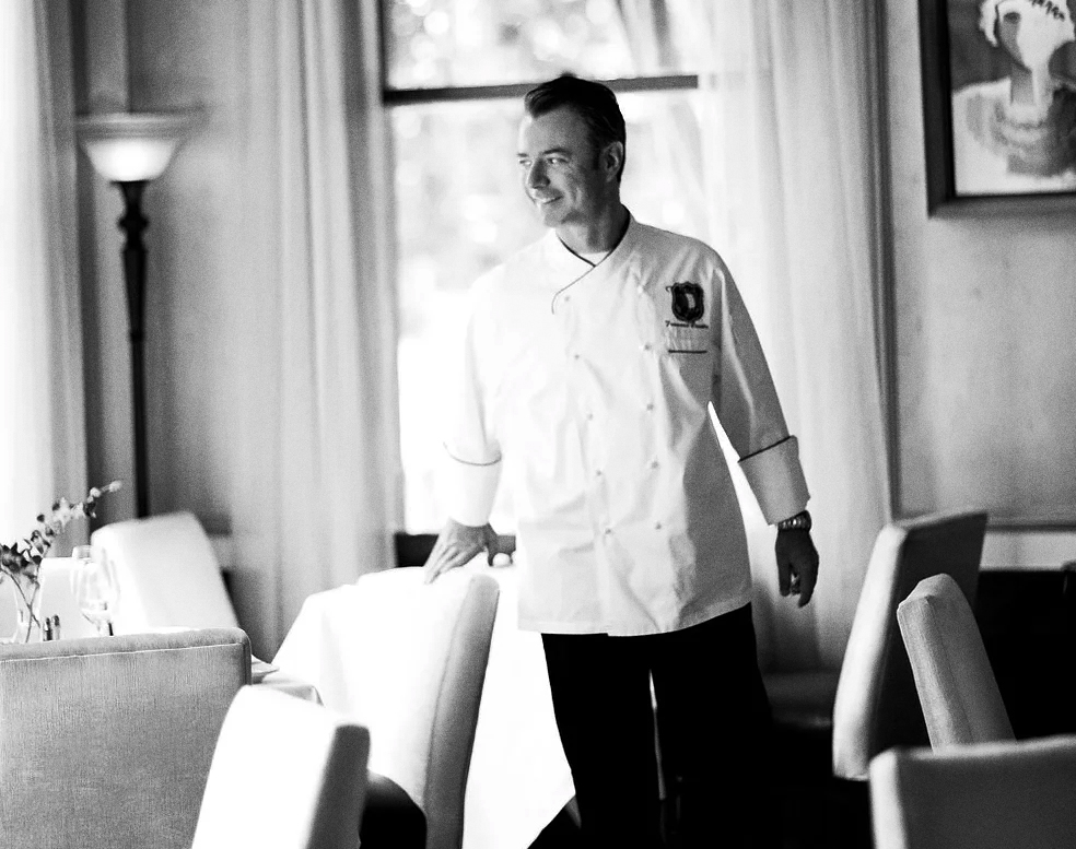 Francesco Casetta. chef, fine dining, three star michelin, michelin trained